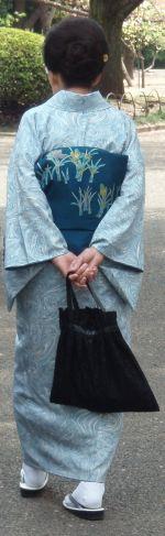 Kimono lady crop