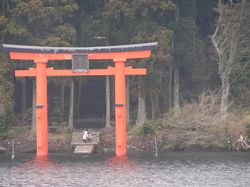 Torii gate on L Ashi