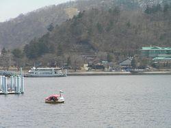Swan Boat on L Chuzenji
