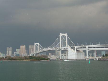 Rainbow Bridge storm