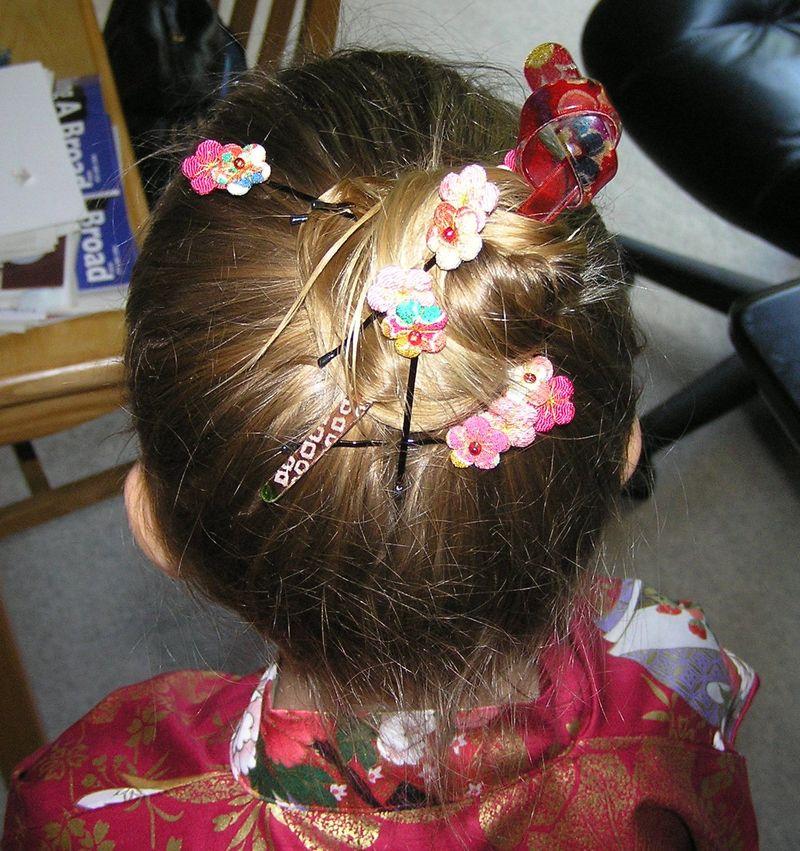 R Kimono hair