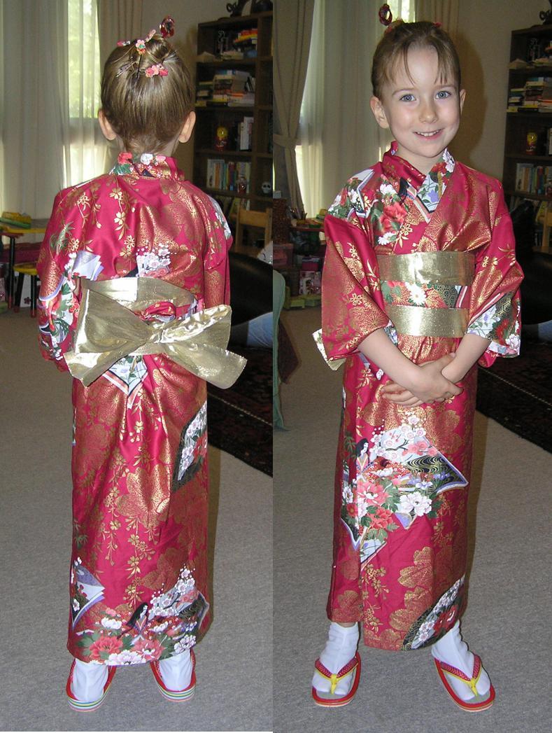 Rhiannon in kimono