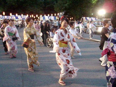 Obon dancers 1