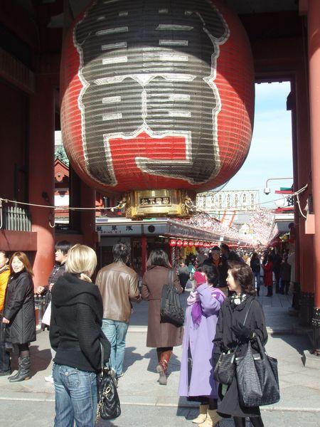 Temple entrance lantern