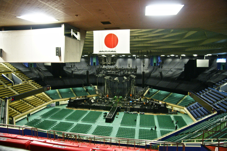 Inside the Budokan