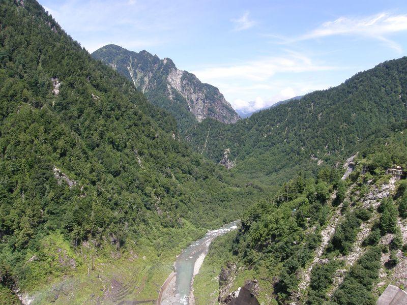 Mountains at Kurobe