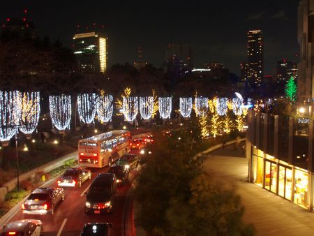Roppongi Midtown Xmas Lights3