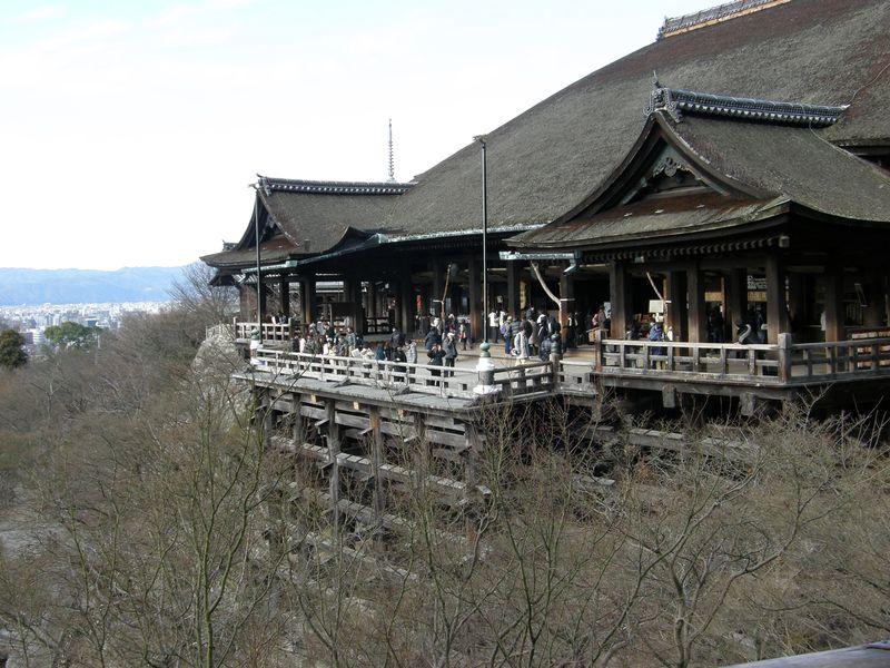 Kiyomizu-dera platform