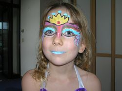 Birthday facepaint