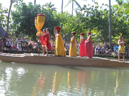 Polynesia Experience parade