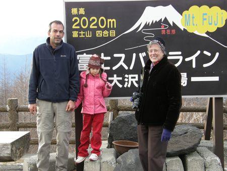2020m up on Fuji
