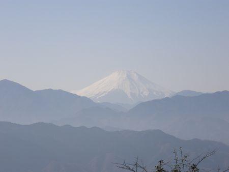 Fuji san from Mt Takao