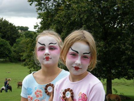 Scary geishas