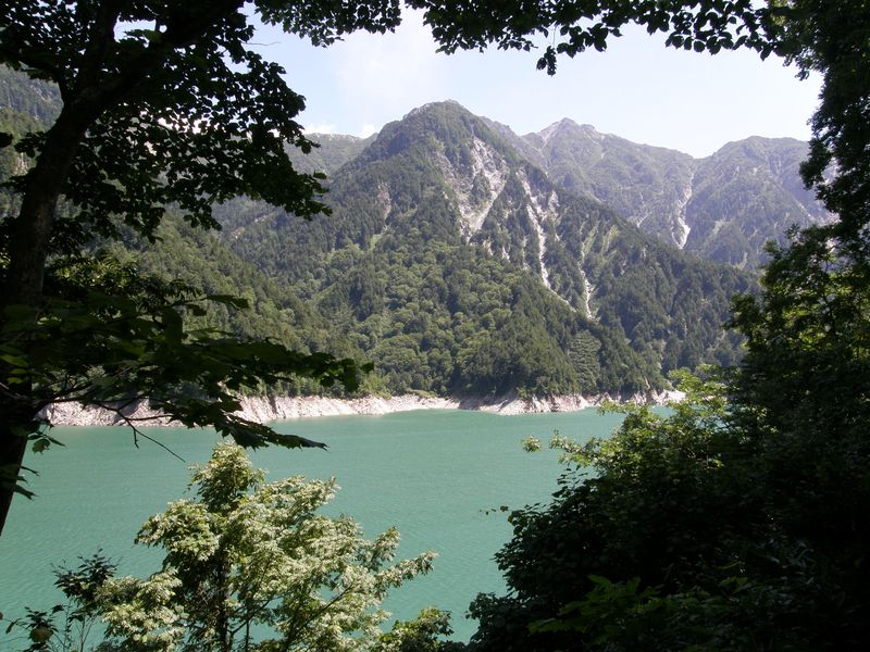 View of Kurobe Lake
