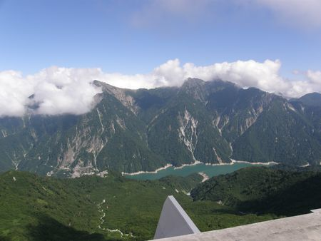 Mountain view at Kurobe
