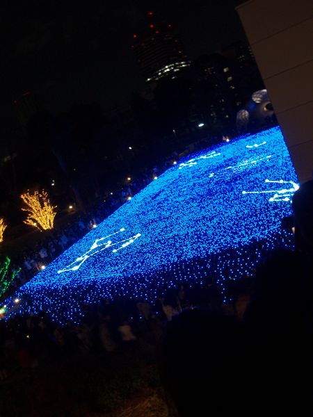 Roppongi Midtown Xmas Lights4