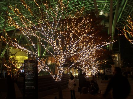 Roppongi Midtown Xmas Lights