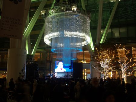 Roppongi Midtown Xmas Lights2