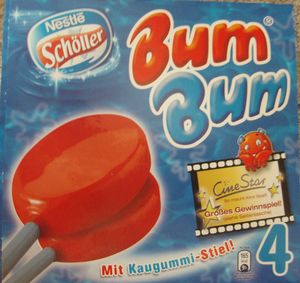 Bum Bum Ice lollies