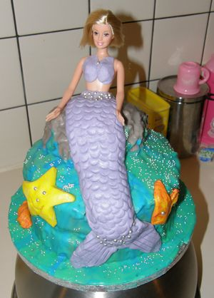 2008 Mermaid Birthday Cake