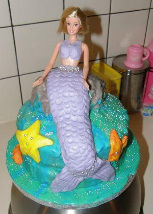 2008 Mermaid Birthday Cake