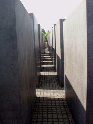 Holocaust Memorial alley