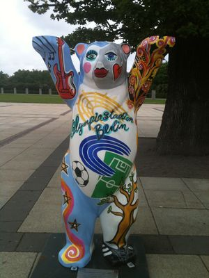 Berlin Olympic Stadium Bear