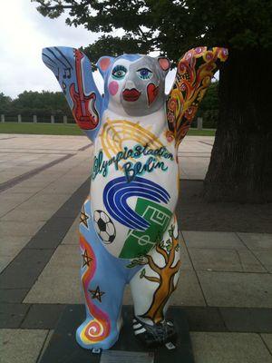 Berlin Olympic Stadium Bear