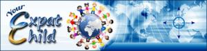 Expat child web header blue